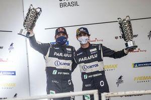 Cacá Bueno e Marcelo Franco