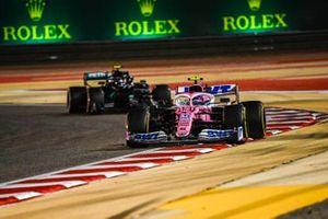 Lance Stroll, Racing Point RP20, Valtteri Bottas, Mercedes F1 W11