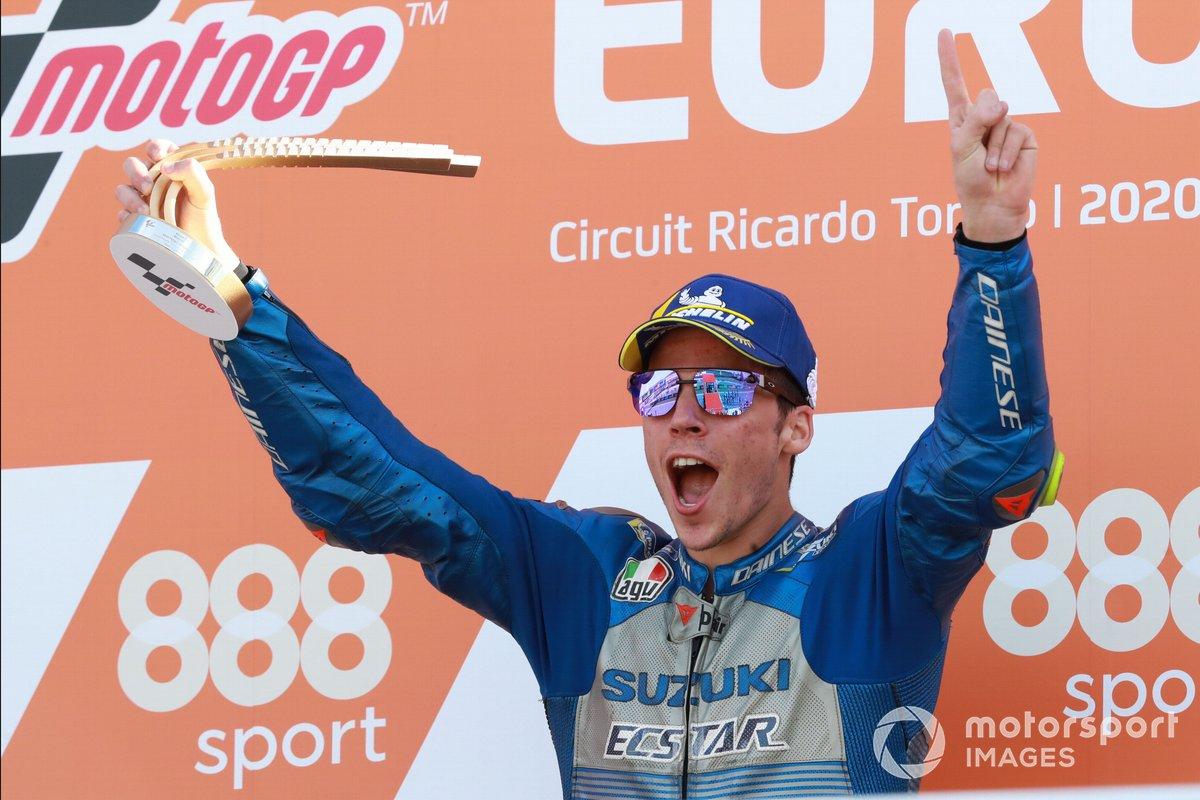Podio: ganador Joan Mir, Team Suzuki MotoGP