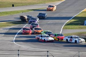 Natalie Decker, RSS Racing, Chevrolet Camaro A-Game and Michael Annett, JR Motorsports, Chevrolet Camaro PFJ American Heart Association