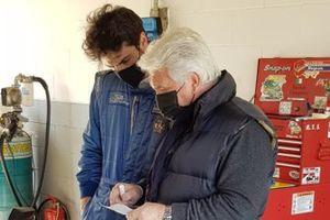 Test Mitjet sul circuito di Varano