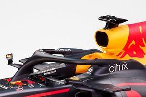 Cockpit de la Red Bull Racing RB16B