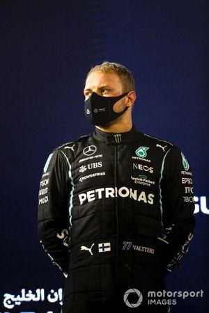 Valtteri Bottas, Mercedes op het podium