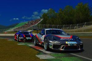 Azione in pista durante Gara2