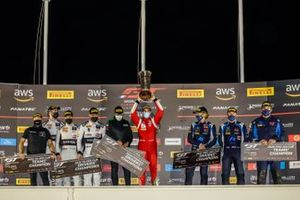 Podium: #51 AF Corse Ferrari 488 GT3: Alessandro Pier Guidi, Tom Blomqvist, Côme Ledogar, #78 Barwell Motorsport Lamborghini Huracan GT3 Evo: Patrick Kujala, Frederik Schandorff, Alex Macdowall,