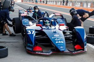Pit stop antrenmanı, Nick Cassidy, Envision Virgin Racing, Audi e-tron FE07