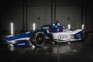 Decoración Chip Ganassi Racing Indy 500 American Legion
