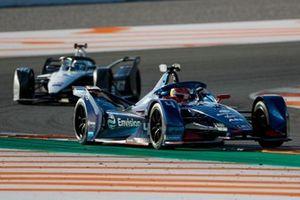 Robin Frijns, Envision Virgin Racing, Audi e-tron FE07, Edoardo Mortara, Venturi, Silver Arrow 02