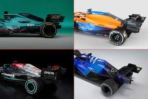 Los coches propulsados por Mercedes