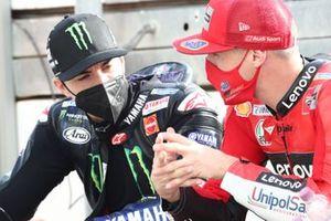 Maverick Vinales, Yamaha Factory Racing Jack Miller, Ducati Team