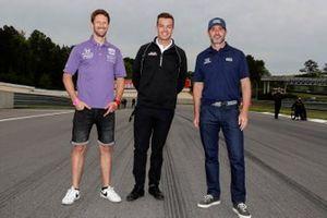 Les rookies en IndyCar en 2021 : Romain Grosjean, Dale Coyne Racing avec Rick Ware Racing Honda, Scott McLaughlin, Team Penske Chevrolet, Jimmie Johnson, Chip Ganassi Racing Honda