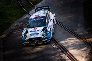 Gus Greensmith, Chris Patterson, M-Sport Ford WRT Ford Fiesta WRC