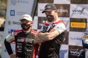 Jari-Matti Latvala, Team Principal, Toyota Gazoo Racing WRT, Takamoto Katsuta, Toyota Gazoo Racing