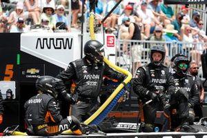 Team, crew member(s) Arrow McLaren SP Chevrolet