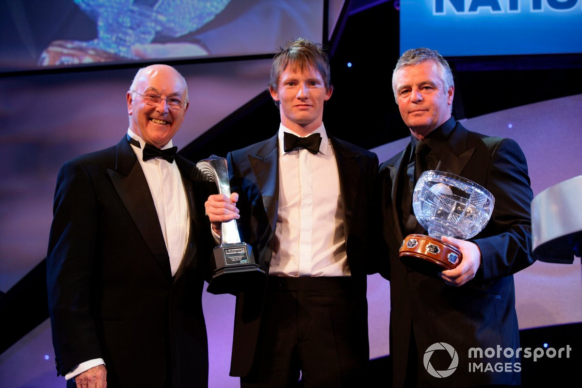 Pictured with Mike Conway and Derek Warwick at the 2006 Autosport Awards, Murray remained a prominent guest speaker at public events and wrote a well-regarded autobiography.