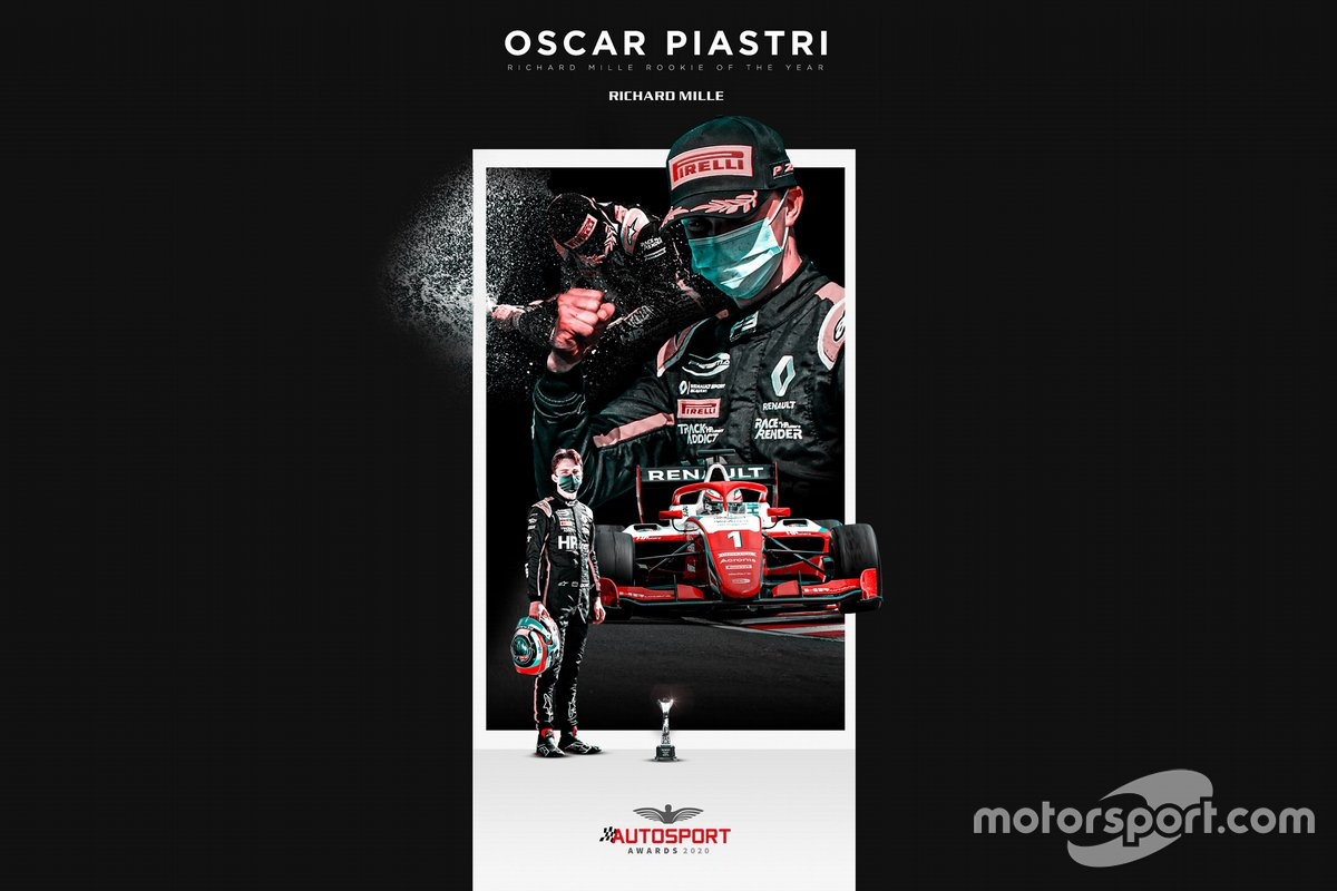 Oscar Piastri Autosport Awards
