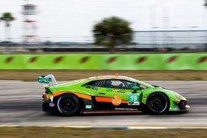 #19 GRT Grasser Racing Team Lamborghini Huracan GT3, GTD : Franck Perera, Tim Zimmermann, Stephen Simpson