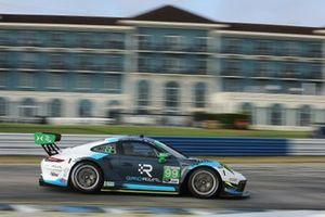 #99: Team Hardpoint EBM Porsche 911 GT3R, GTD: Rob Ferriol, Earl Bamber, Trenton Estep