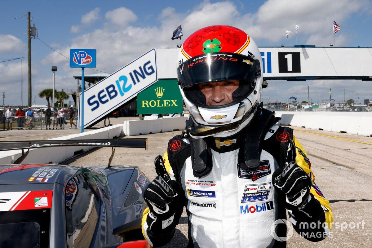 #3 Corvette Racing Corvette C8.R, GTLM: Antonio Garcia IMSA ganador de la Pole GTLM