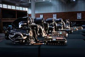 Mercedes F1 power units 2014-2018