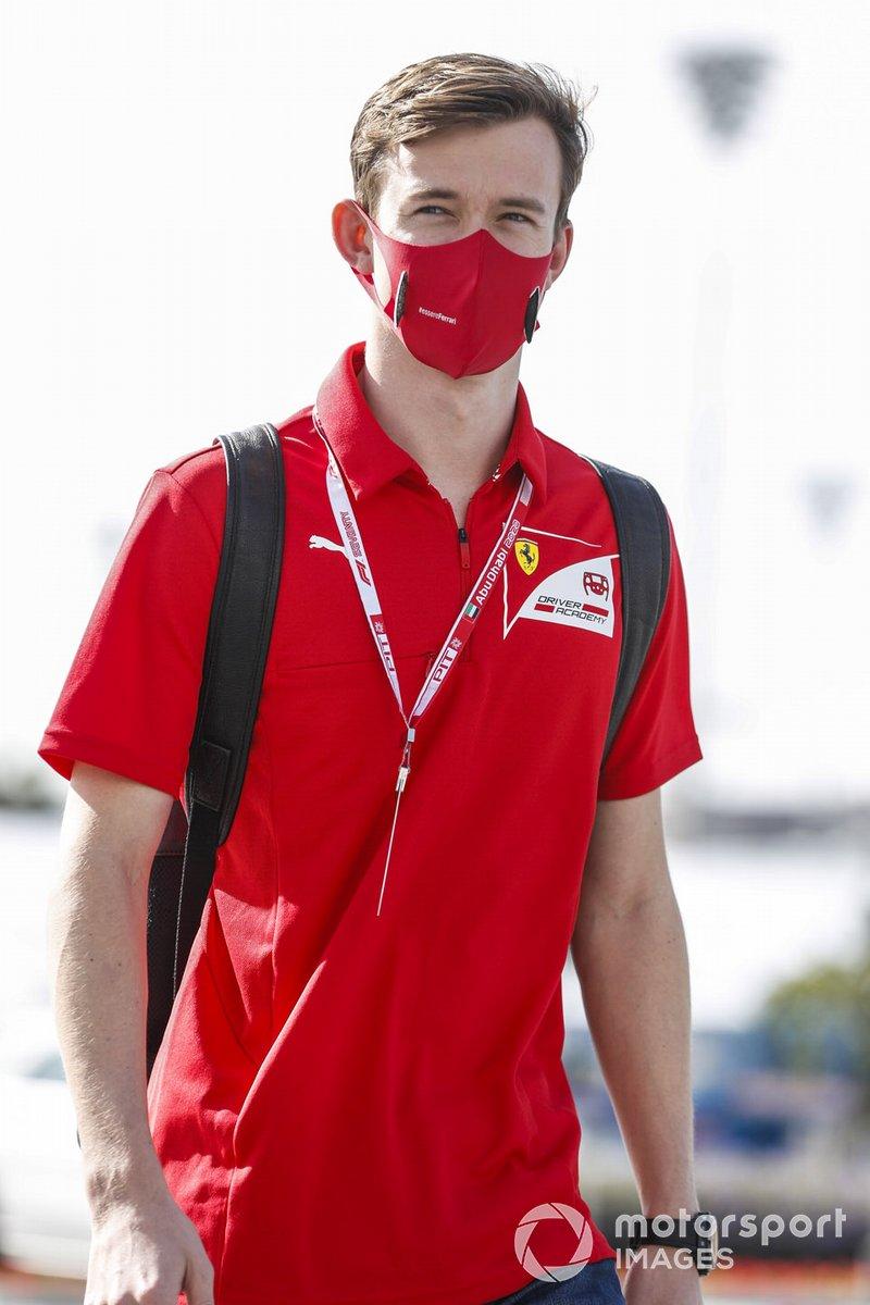 Callum Ilott, piloto junior de Ferrari