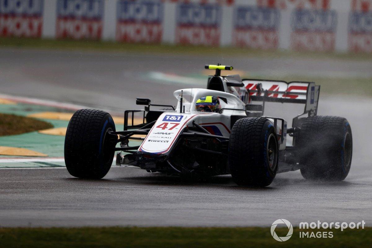 Mick Schumacher, Haas VF-21: 5 puan