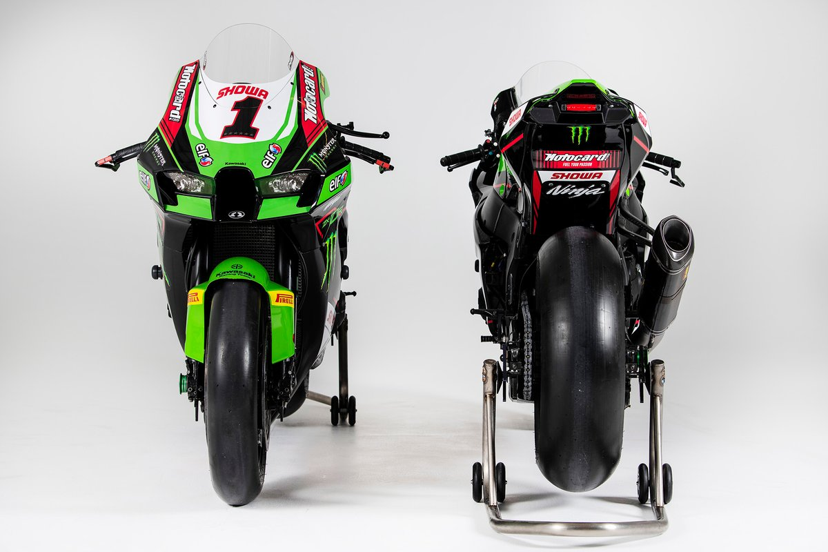 Bike of Jonathan Rea, Kawasaki Racing Team WorldSBK