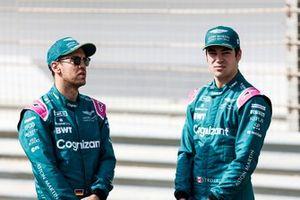 Sebastian Vettel, Aston Martin and Lance Stroll, Aston Martin