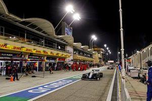 George Russell, Williams FW43, Kimi Raikkonen, Alfa Romeo Racing C39