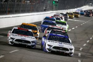 Chris Buescher, Roush Fenway Racing, Ford Mustang Fastenal, Ryan Newman, Roush Fenway Racing, Ford Mustang Guaranteed Rate