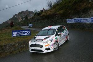 Riccardo Pederzani, Daniel Pozzi, Ford Fiesta Rally4 #91