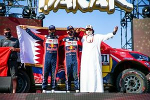 2. #301 Toyota Gazoo Racing: Nasser Al-Attiyah, Matthieu Baumel