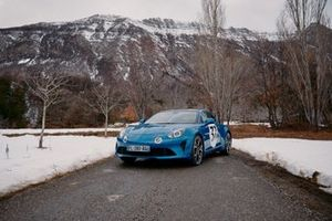 L'Alpine A110S d'Esteban Ocon pour le Rallye Monte-Carlo 2020