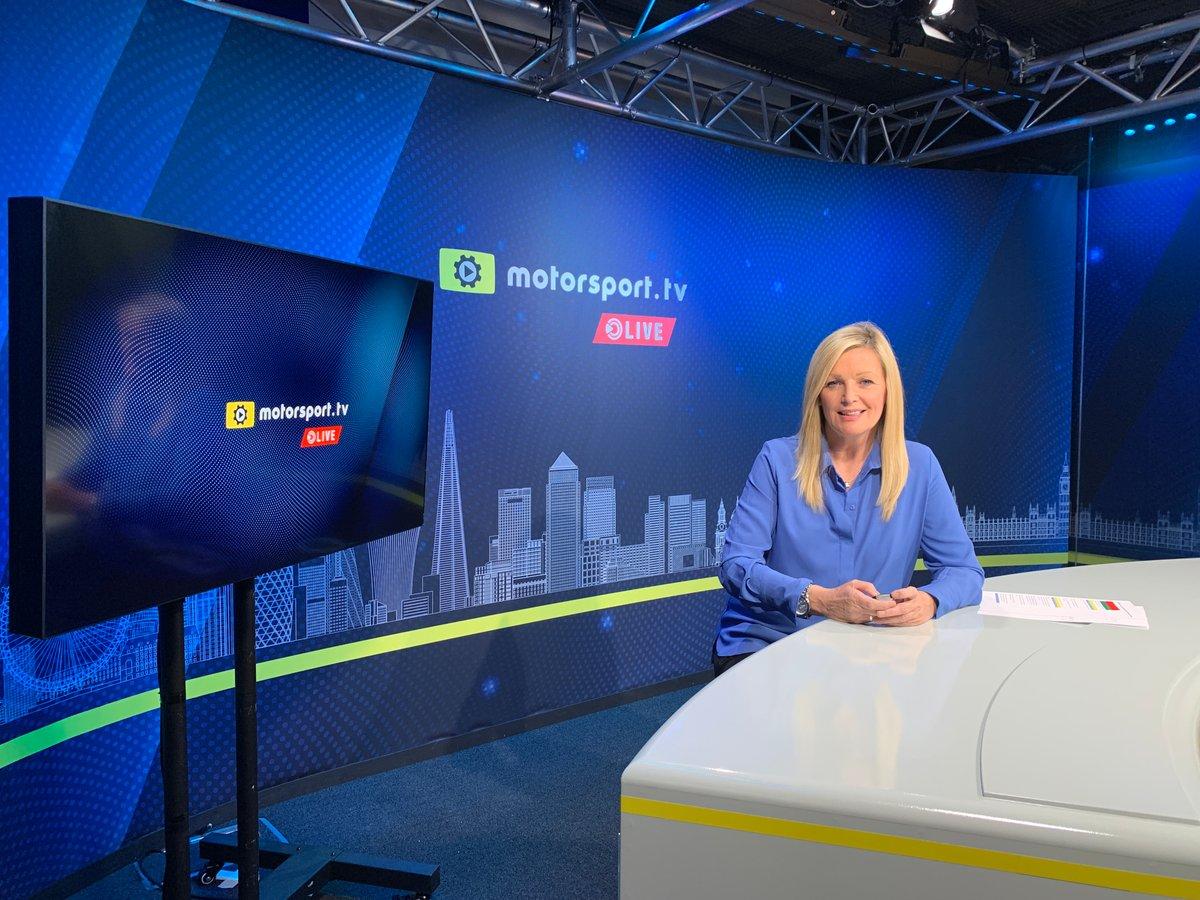 Diana Binks sarà uno dei quattro presentatori di Motorsport.tv Live news channel
