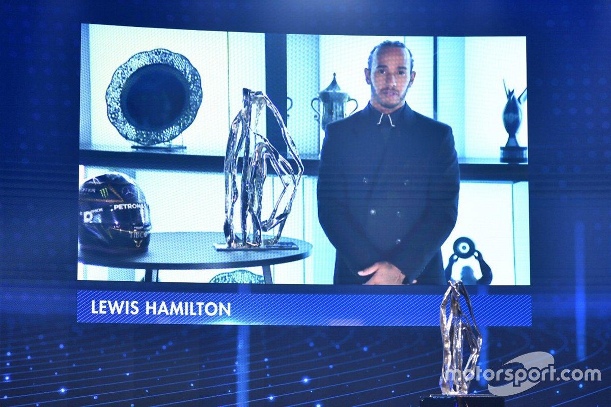 Premio especial del presidente de la FIA: Lewis Hamilton