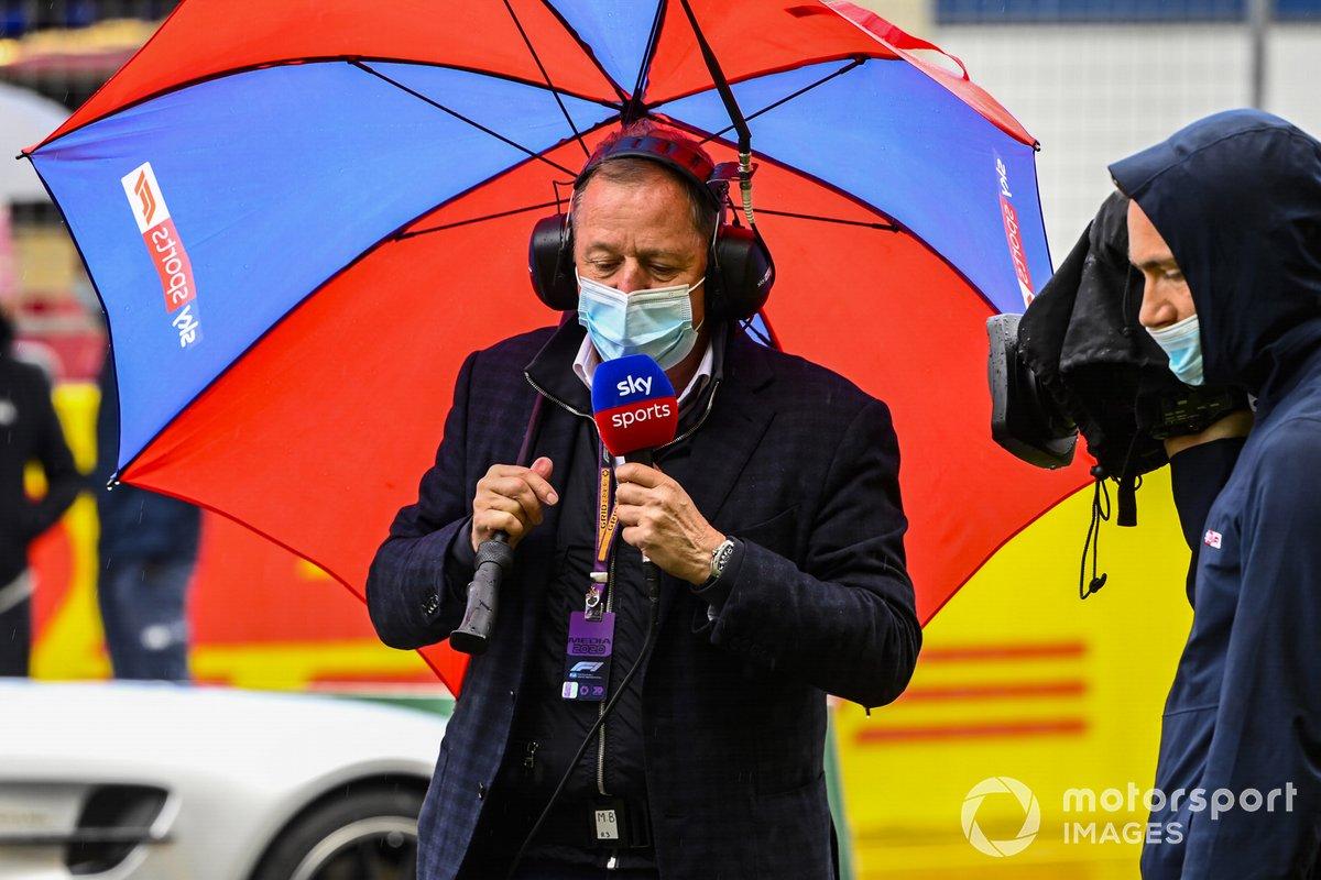 Martin Brundle, Sky TV