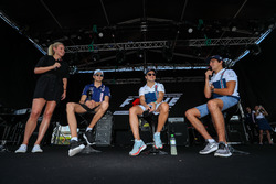 Esteban Ocon, Sahara Force India, Lance Stroll, Williams and Felipe Massa, Williams on stage