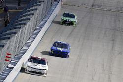 Tyler Reddick, Chip Ganassi Racing Chevrolet, Josh Bilicki, Obaika Racing Chevrolet