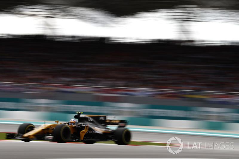 15th : Jolyon Palmer (Renault)