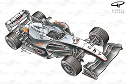 Vue d'ensemble de la McLaren MP4-18