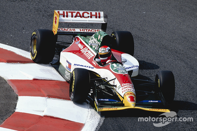 Johnny Herbert, Lotus 107B Mugen Honda