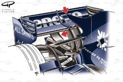 Williams FW30 2008 Monaco engine cover