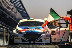 Paolo Andreucci and Anna Andreussi, Peugeot 208 T16