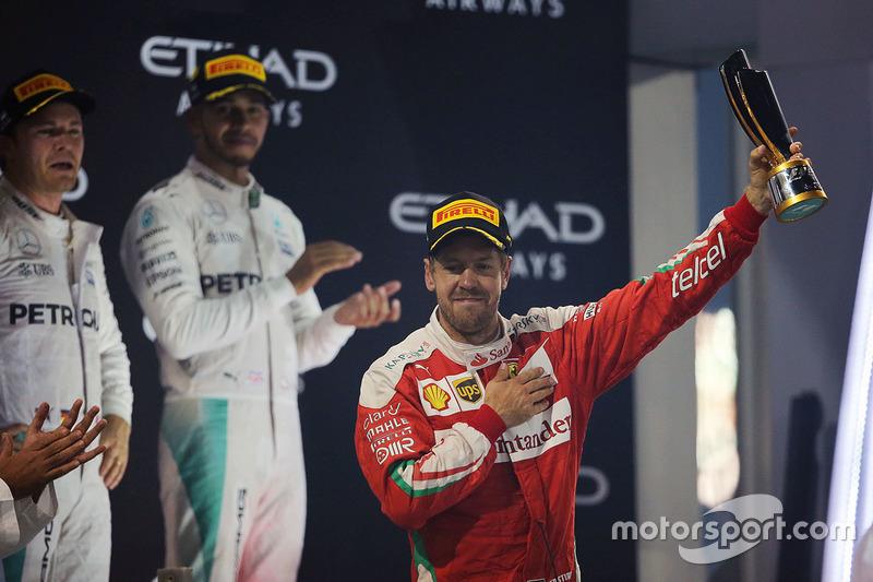 21. GP de Abu Dhabi 2016: Sebastian Vettel (3º)