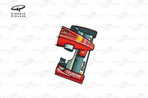 Носовой обтекатель Ferrari F300 (649) 1998 года