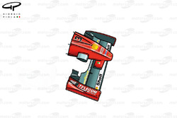 Nez de la Ferrari F300 (649)