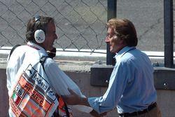 Giorgio Piola and Luca di Montezemolo, Ferrari