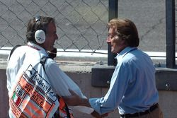 Giorgio Piola et Luca di Montezemolo, Ferrari