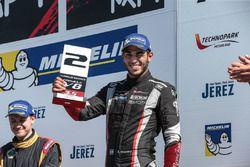 Podium: second place Roy Nissany, RP Motorsport