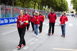 Felix Rosenqvist, Mahindra Racing & Nick Heidfeld, Mahindra Racing